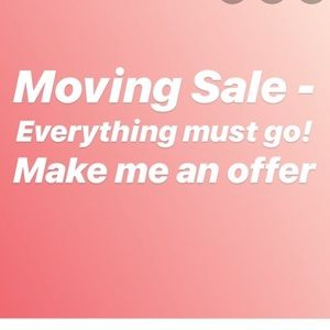 Please EVERYTHING MUST GO!!!!!!!